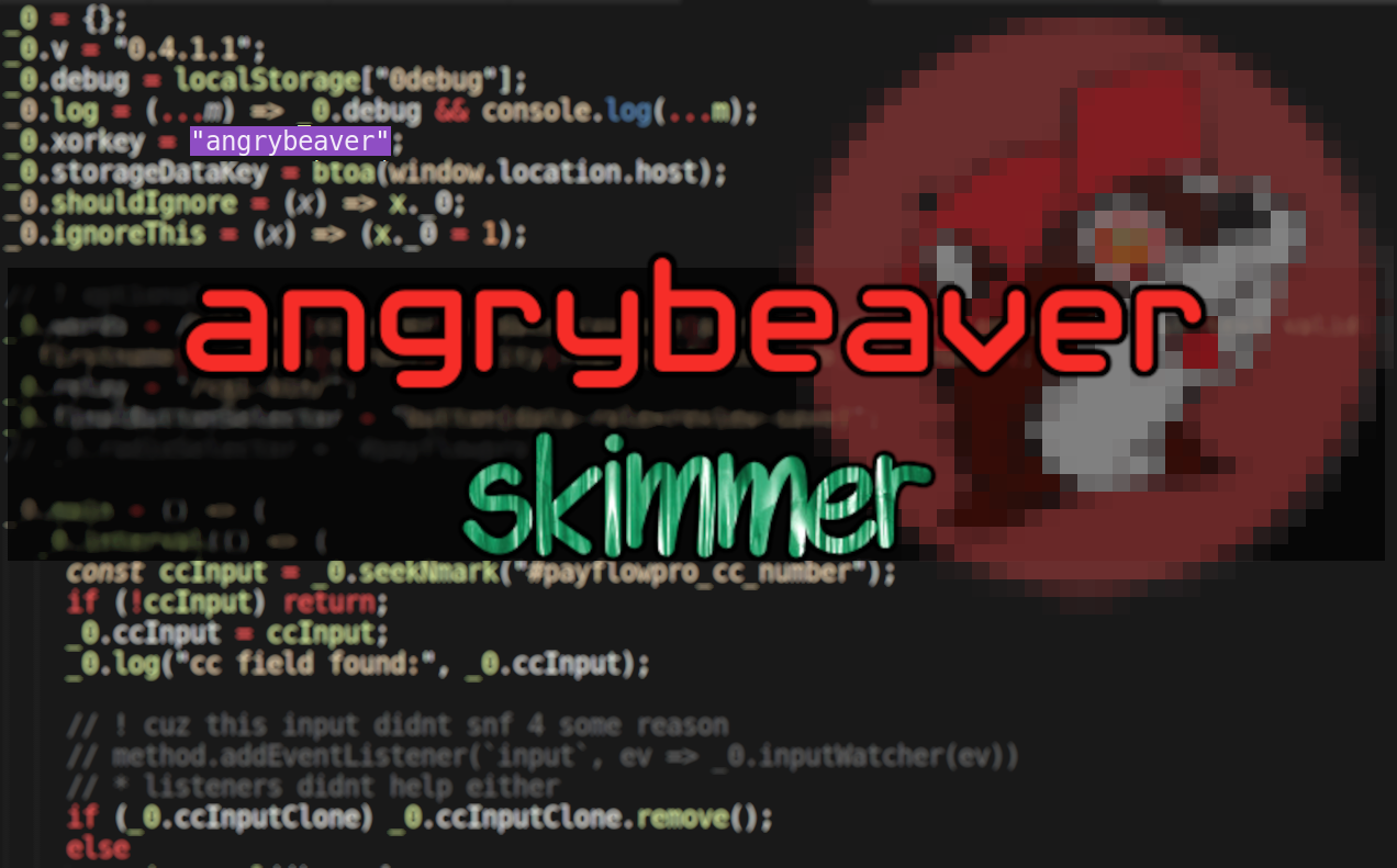 An Angrybeaver Has Joined The Skimming Game
