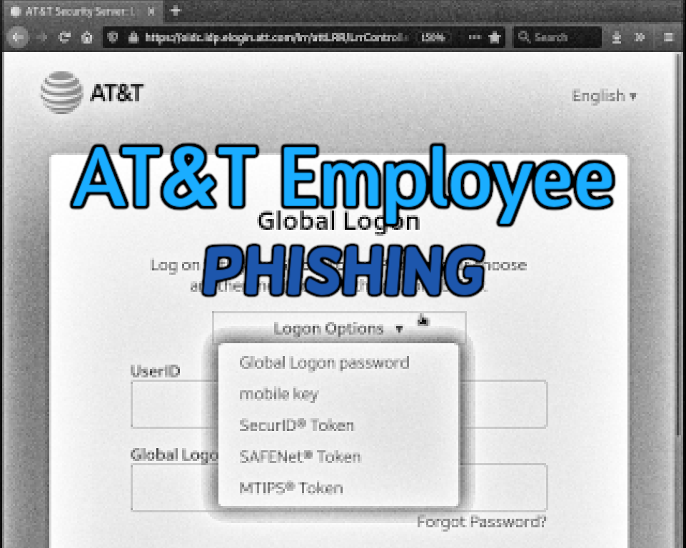 AT&T Global Employee MFA Phishing