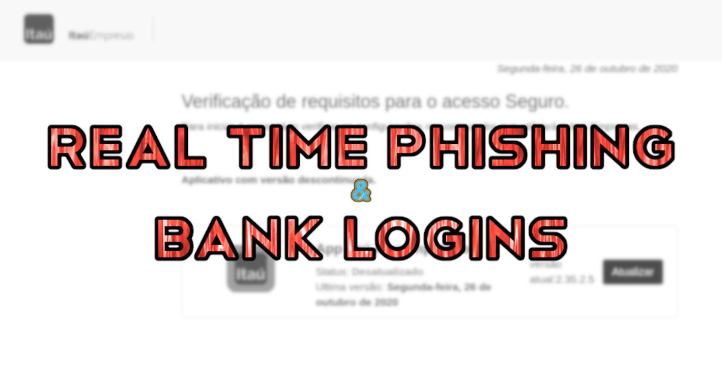 Real-time Phishing Kit Targets Banco Itau Business Accounts