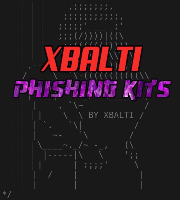 XBALTI Phishing Kits