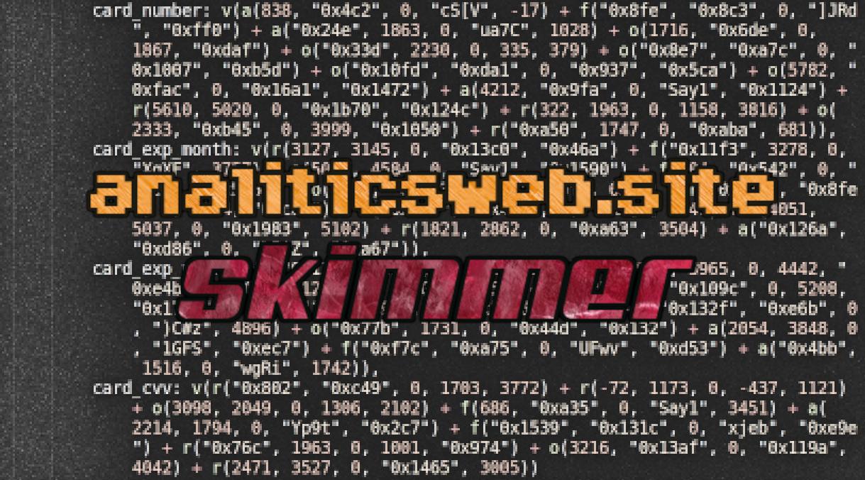 analiticsweb.site (zulhqmnr@netmail[.]tk) skimmer